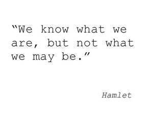 Hamlet and quotes image