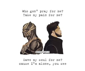 art, pray for me, and black panther image