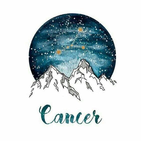 zodiac, cancer, and aquarius image