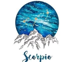 scorpio and zodiac image
