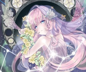 virgo, zodiac, and anime image