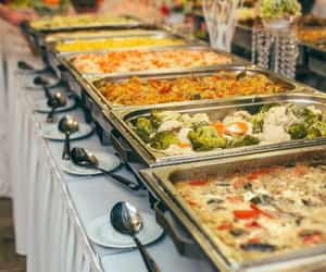 wedding food truck, wedding caterers, and food truck near me image