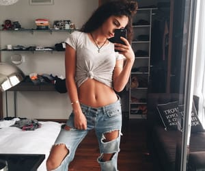 clothes, girl, and happy image