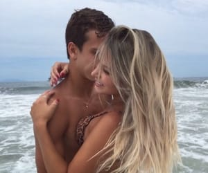 beach, couples, and goals image