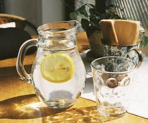 lemon, drink, and vintage image