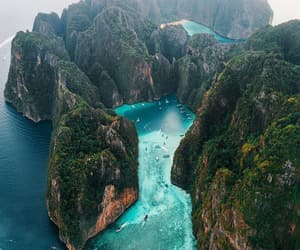 nature, thailand, and mountains image