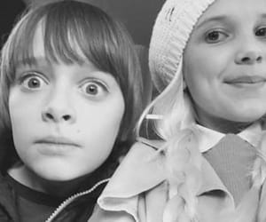 noah schnapp, millie bobby brown, and eleven image