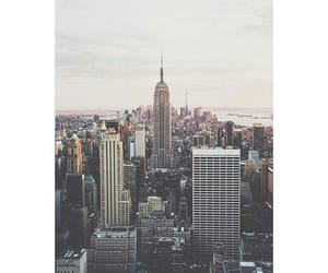 empire state building and new york city image