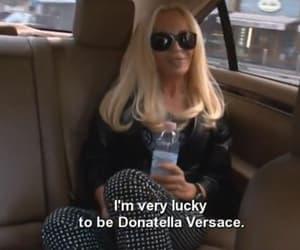 Donatella Versace, fashion, and icon image