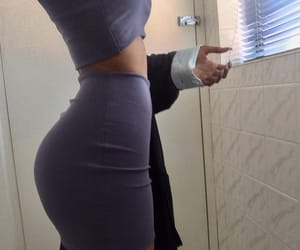 babes, butt, and fitness image