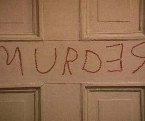 murder, grunge, and horror image