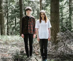 alex lawther, teotfw, and jessica barden image