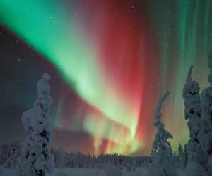 aurora, awesome, and boreal image
