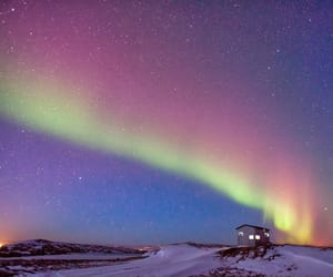 aurora, beautiful, and boreal image