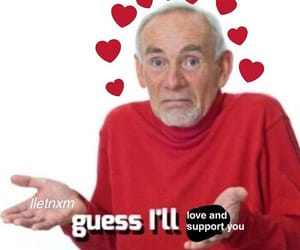 hearts, wholesome, and meme image