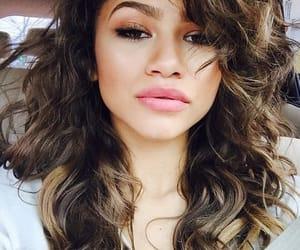 zendaya, hair, and makeup image
