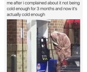 cold, funny, and lol image