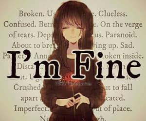 alone, anime, and fine image