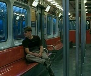 boy, grunge, and train image