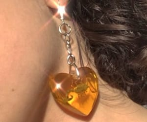 aesthetic, earrings, and theme image
