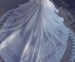 chic, wedding, and dress image