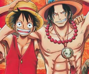 anime, ace, and one piece image