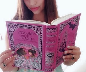 beast, beauty, and book image