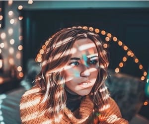 lights, fairy lights, and photography image