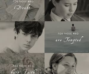 edmund pevensie, lucy pevensie, and prince caspian image