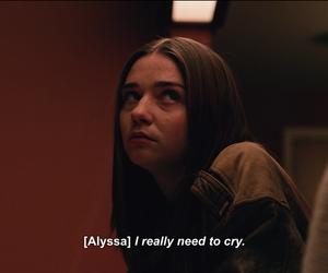 Alyssa, sad, and teotfw image