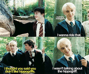 confusion, dig, and draco malfoy image