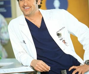 patrick dempsey, grey's anatomy, and grey image