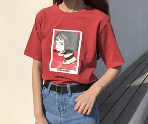 red, style, and aesthetic image