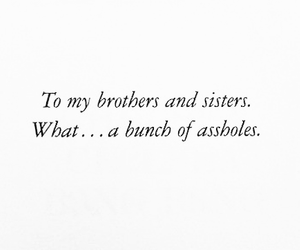 brothers, losers, and sisters image