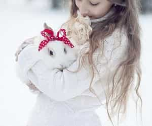 snow, sweet, and winter image