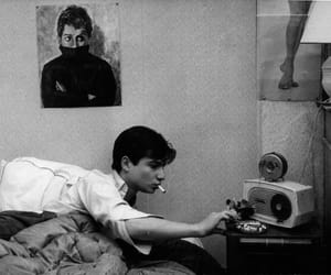 boy, black and white, and jean pierre leaud image