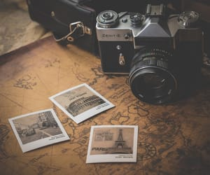 adventure, map, and pictures image