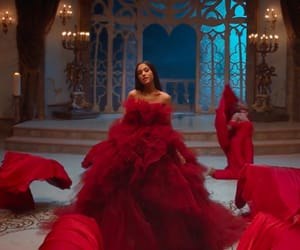 ariana grande, beauty and the beast, and film image