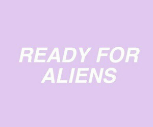 alien, purple, and aesthetic image