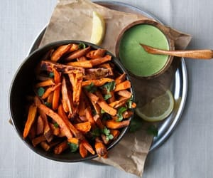 food, healthy, and dinner image