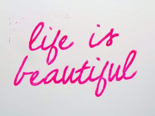 life, beautiful, and pink image