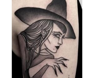 tattoo and witch image