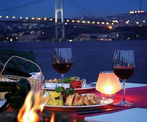 romantic, food, and istanbul image