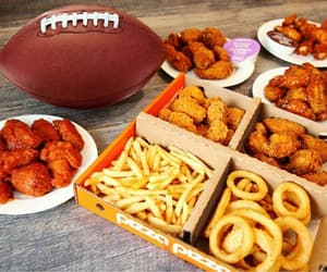 american football, food, and French Fries image