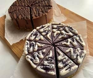 brown, cake, and chocolate image