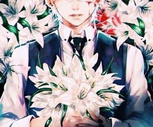 anime, kaneki ken, and fan art image