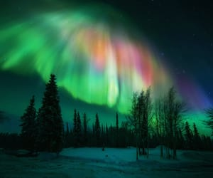 alaska, aurora, and beautiful world image