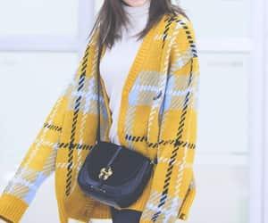 JYP, winter fashion, and sana image