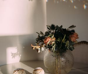 flowers, food, and shadow image