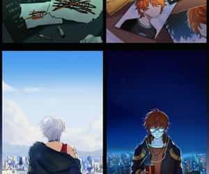 anime, cool, and glasses image